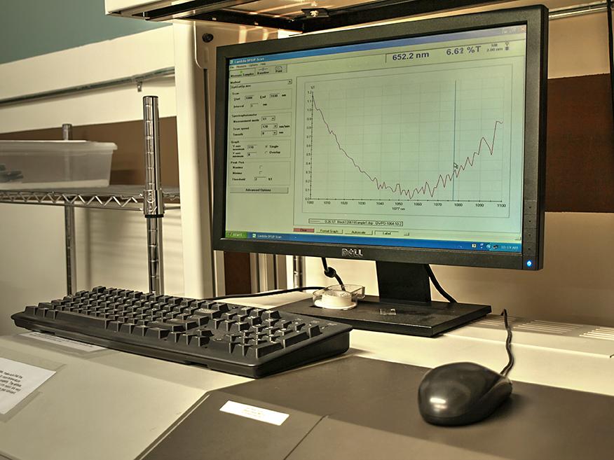 Perkin-Elmer Lambda 19 Spectrophotometer