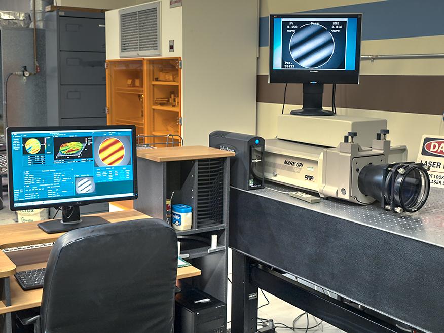 Zygo Corp. Mark GPI Phase Shift Interferometer